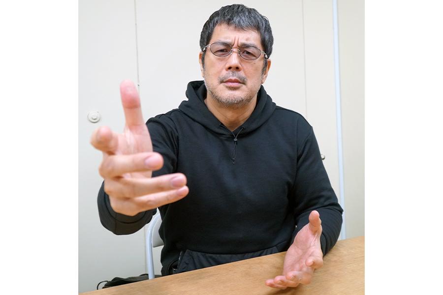 ユーチューバーになった思いを語る高田延彦【写真:ENCOUNT編集部】