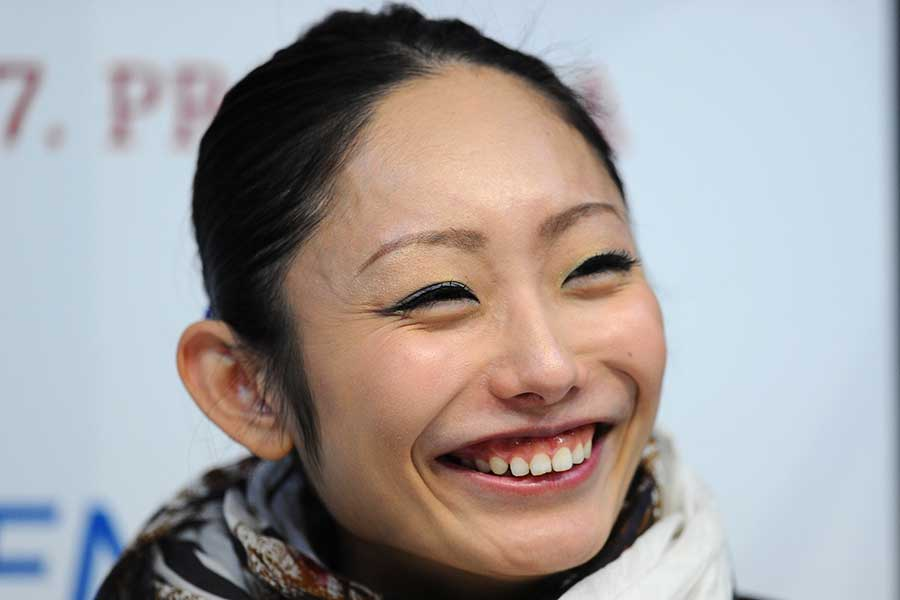 フィギュアスケーターの安藤美姫【写真:Getty Images】