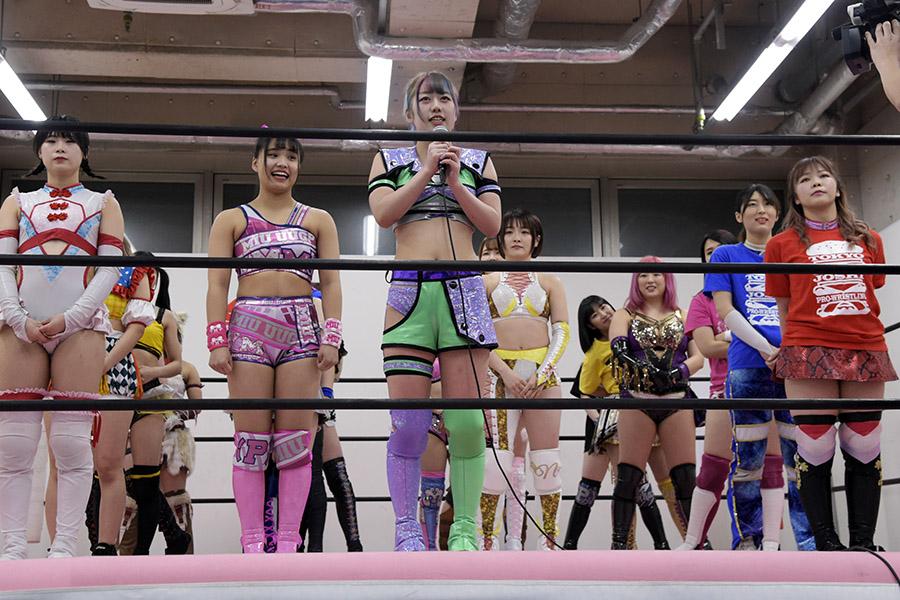 21人選手出場によるワンデイトーナメントを開催した東京女子プロレス【写真:(C)DDTプロレスリング/村上由美】