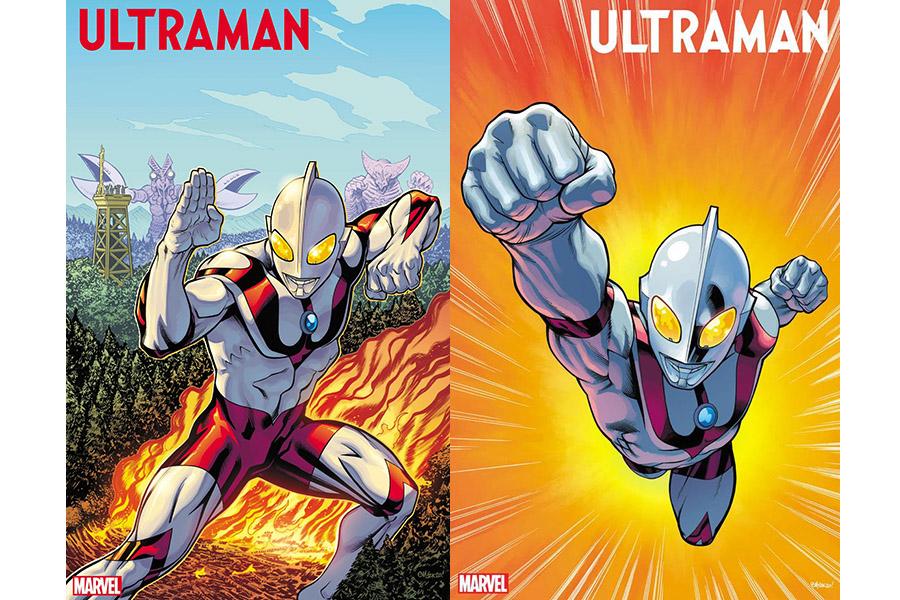 日米最強タッグ結成 マーベル版「ウルトラマン」のカバーイラストがついに公開