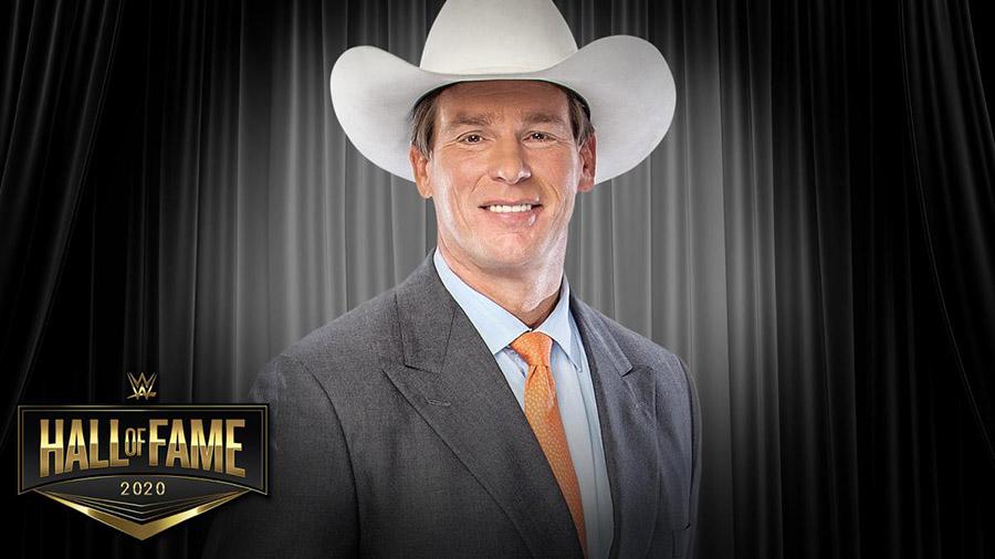 殿堂入りしたJBL (C)2020 WWE, Inc. All Rights Reserved.