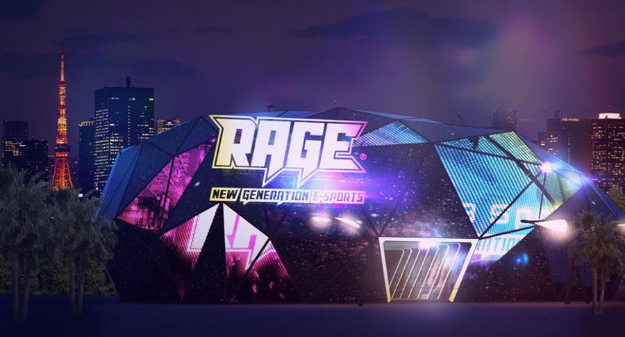 国内最大級のeスポーツイベント「RAGE」がVRを駆使した観戦専用施設「V-RAGE」をオープン
