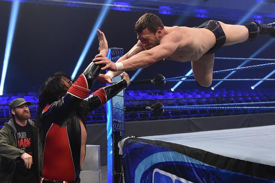 WWEでも無観客試合 看板番組「WWEスマックダウン」が急遽会場変更で開催される