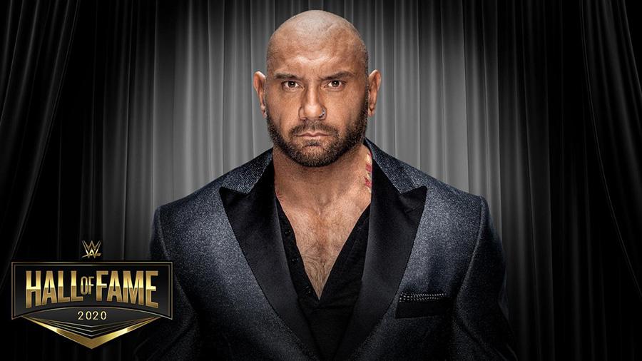 元WWEで俳優のデイヴ・バウティスタ (C)2020 WWE, Inc. All Rights Reserved.