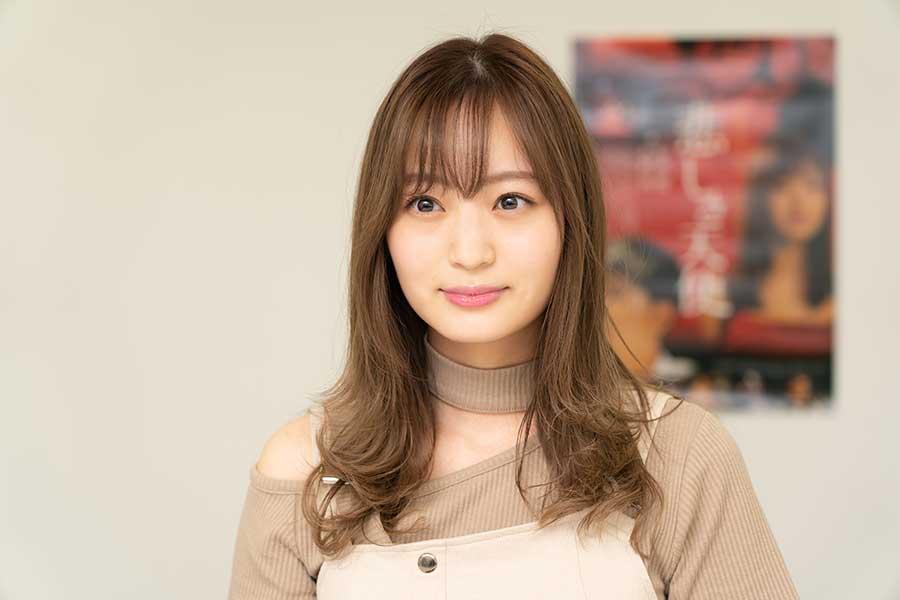 """女優の和田瞳、濡れ場&キスシーン初挑戦! """"モテる女""""を研究「モテる仕草をググって」"""