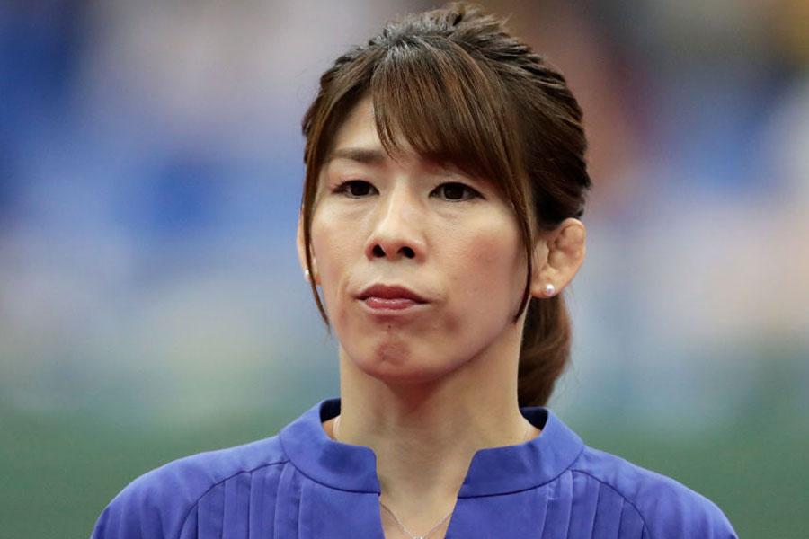 吉田沙保里、「聖火を見た時は涙が…」東京五輪・聖火到着式の参加を報告