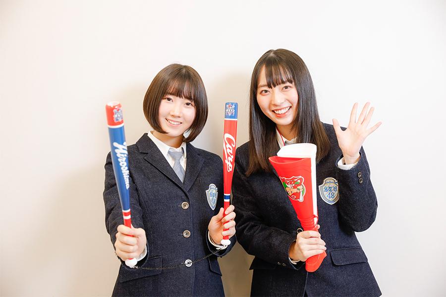 "STU48インタビュー【第8弾】今村美月×甲斐心愛 固い絆で結ばれた""カープ女子""コンビの夢"