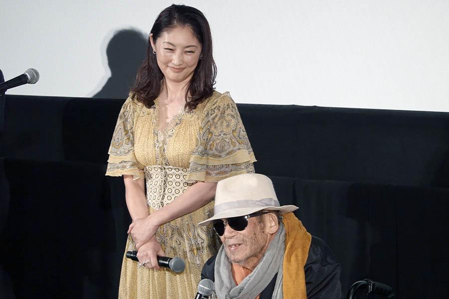 昨年11月の第32回東京国際映画祭に出席した大林宣彦監督と常盤貴子【写真:ENCOUNT編集部】