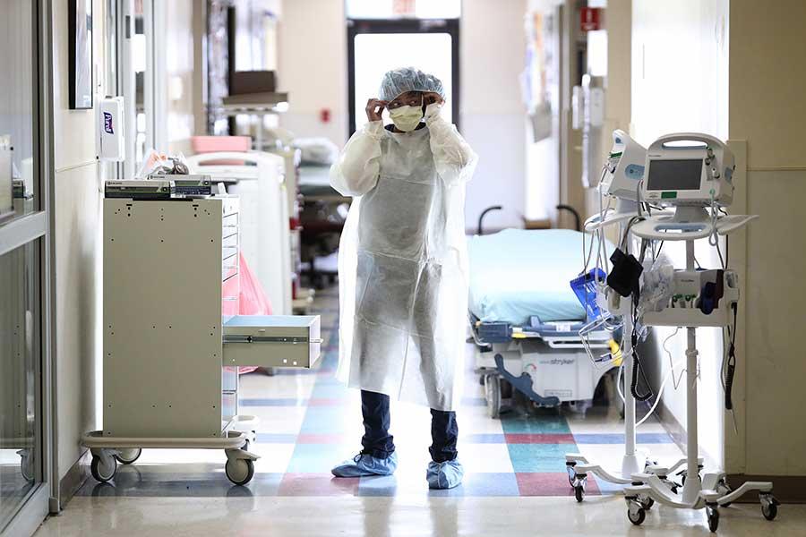 """アメリカの医療現場では壮絶な""""闘い""""を強いられている(写真はイメージ)【写真:Getty Images】"""