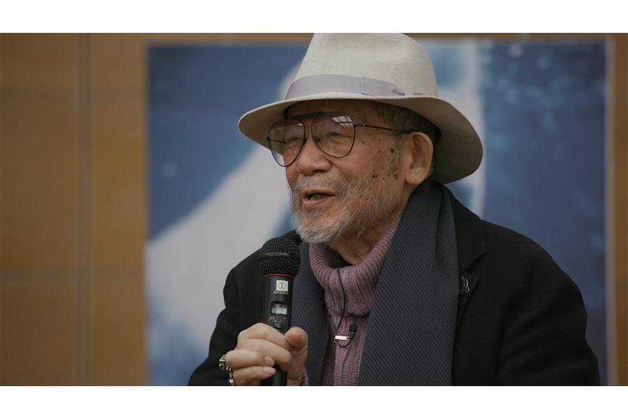 2018年放送「最後の講義」の大林宣彦監督(C)NHK