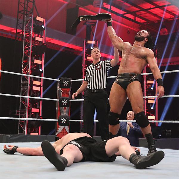 マッキンタイアがレスナーから3カウント! WWE史上初・無観客2DAYSのPPV「レッスルマニア36」2日目