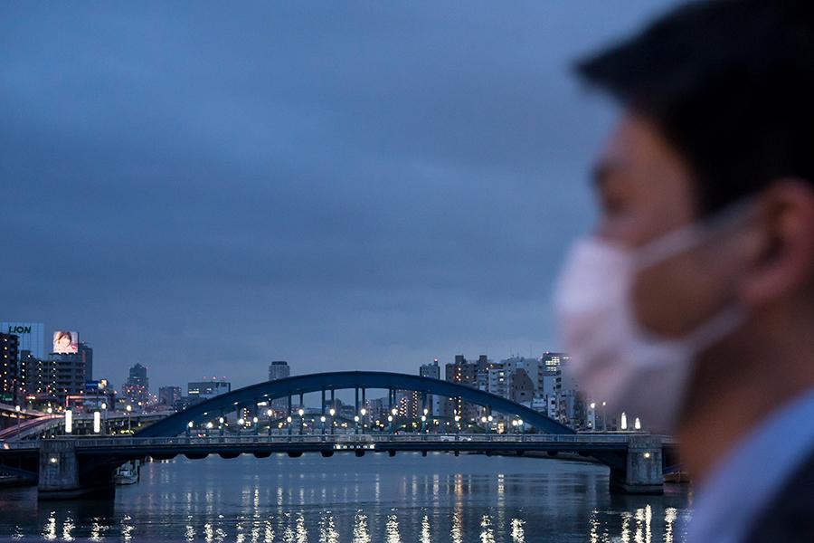 """""""マスク文化""""が評価された日本【写真:Getty Images】"""