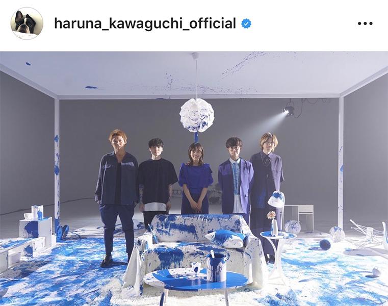 川口春奈、BLUE ENCOUNTのMV出演でファン歓喜「最強すぎる組み合わせ」「かっこよすぎ」