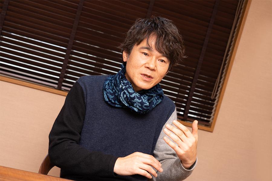 「高津川」で映画初主演を果たした甲本雅裕【写真:山口比佐夫】