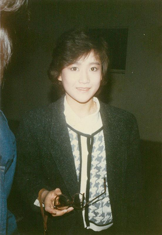 【写真】18歳の時の岡田有希子さん【提供:ブレーメン大島】