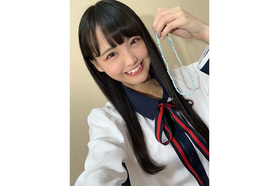 STU48副キャプテンの福田朱里(C)STU