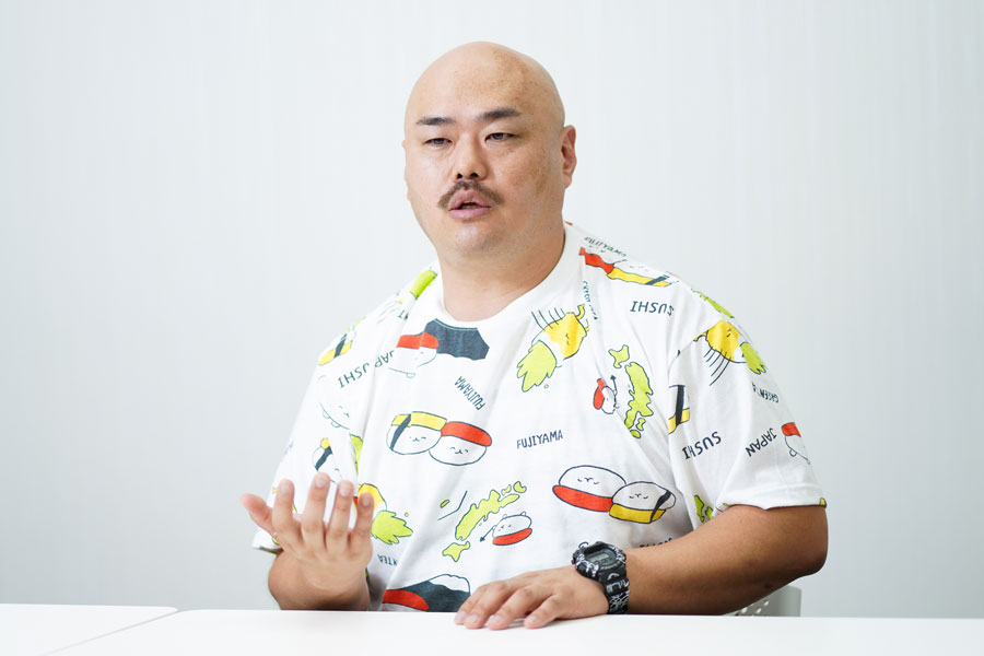 「安田大サーカス」のクロちゃん【写真:ENCOUNT編集部】