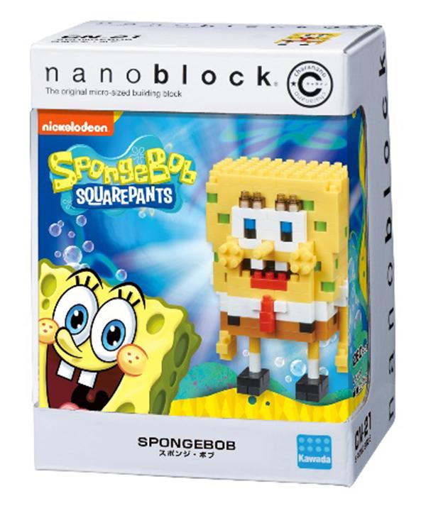 「ナノブロック」にスポンジ・ボブが登場!「可愛いい」「アグレッシブ」ファンも絶賛