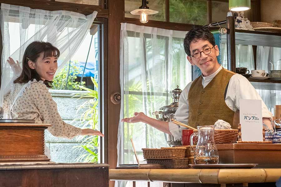 【エール】仲里依紗が初登場 喫茶バンブーを営む夫婦