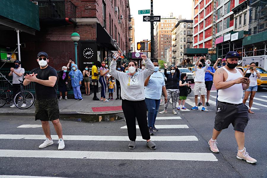 """ニューヨークでは""""自粛疲れ""""が見え始めている【写真:Getty Images】"""