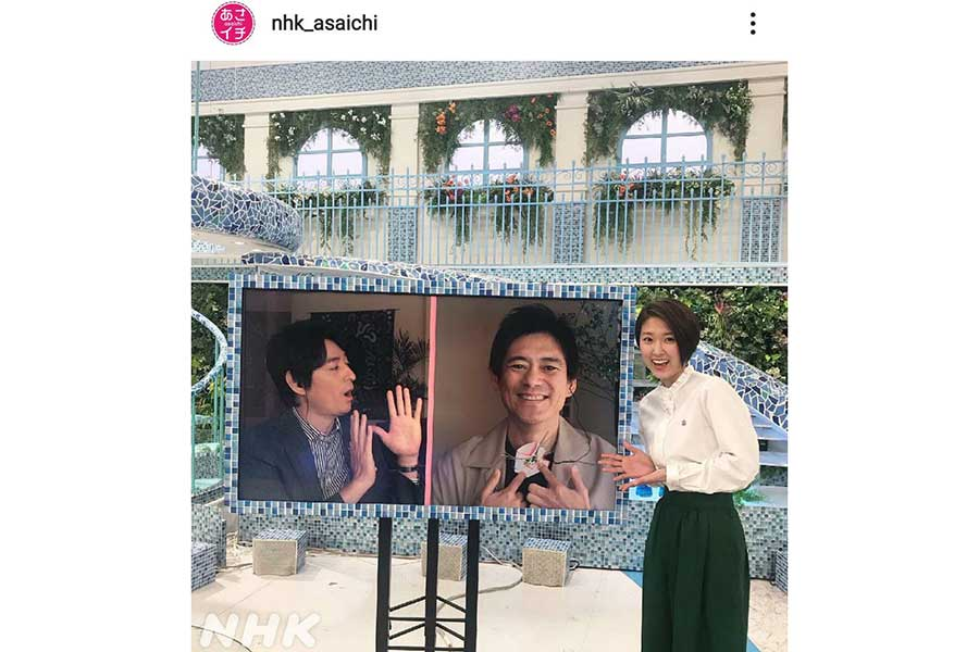 「あさイチ」近江アナ、新人時代に局内で見かけた唐沢寿明に「本物のテレビの現場を見た!」と熱弁