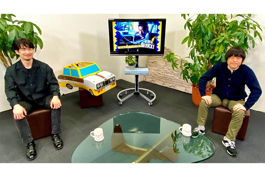 竹野内豊とバカリズム、4年ぶりに再会!「素敵な選TAXI」対談、竹野内「このドラマはおもちゃ箱」