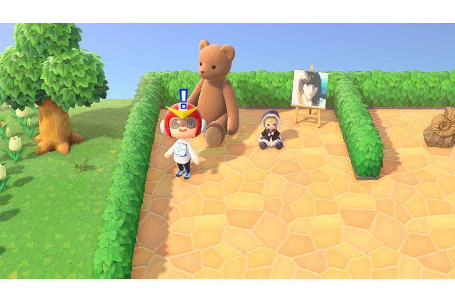 (c)2020 Nintendo エンカウン島にも浅川さんのプレゼントが!
