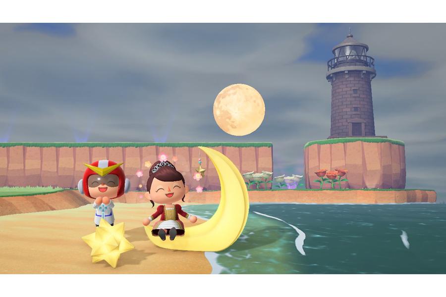 (c)2020 Nintendo 「かっこん島のフォトスポットにて」キャプチャー撮影:浅川梨奈さん