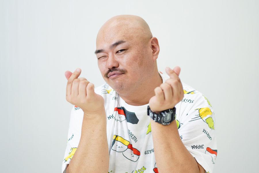 クロちゃん【写真:ENCOUNT編集部】