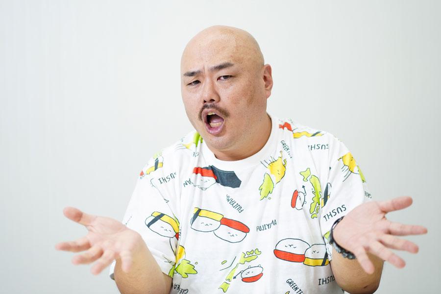 クロちゃん【写真:荒川祐史】