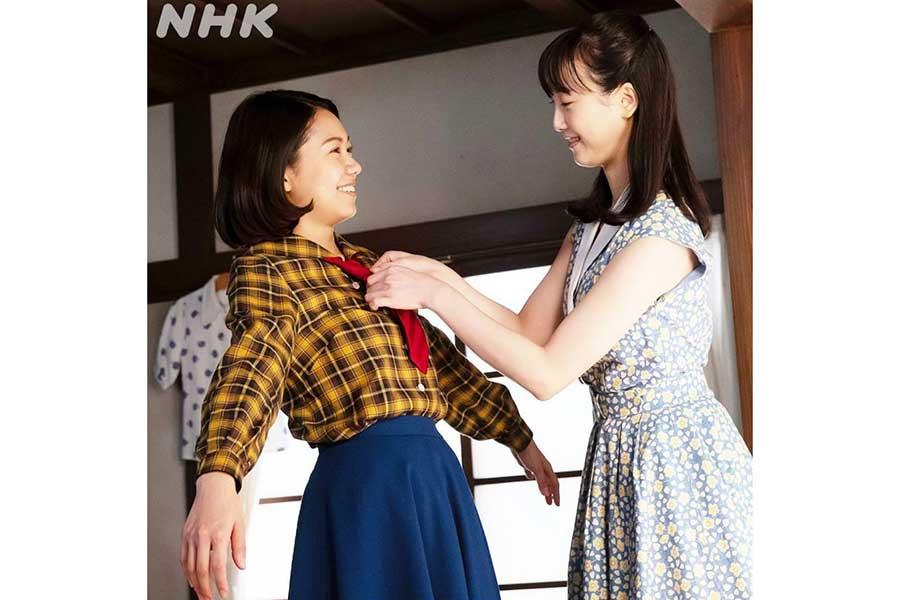 エールで姉妹役の二階堂ふみ&松井玲奈、仲良しショット公開「2人が綺麗で可愛すぎ」