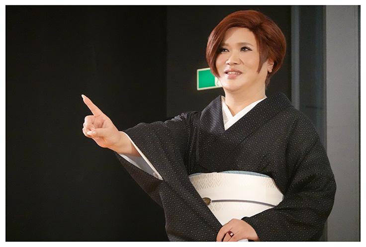 IKKO「この存在感、どんだけ~!」30日、上野で開幕の特別展「きもの KIMONO」をPR