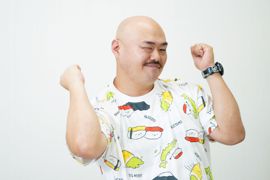 安田大サーカス」のクロちゃん【写真:荒川祐史】