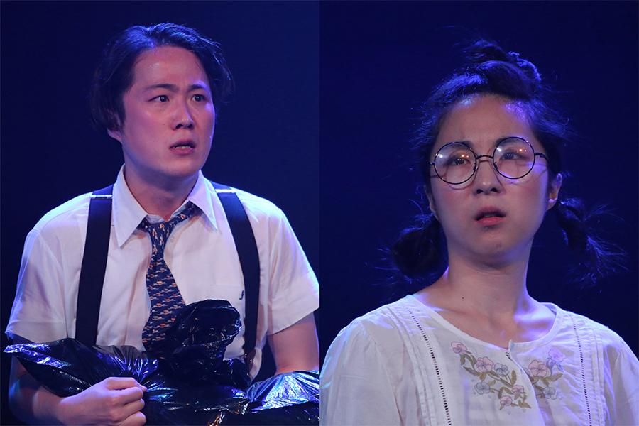 """大鶴佐助と大鶴美仁音、姉弟で初のオンラインふたり芝居で""""飛び道具""""披露宣言"""