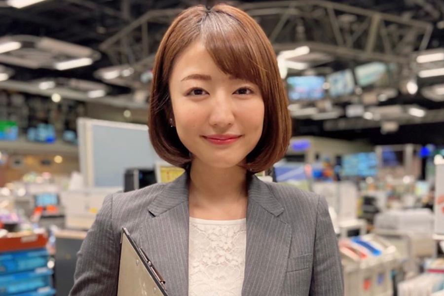 日本テレビの滝菜月アナウンサー【写真:インスタグラム(@taki_natsuki)より】