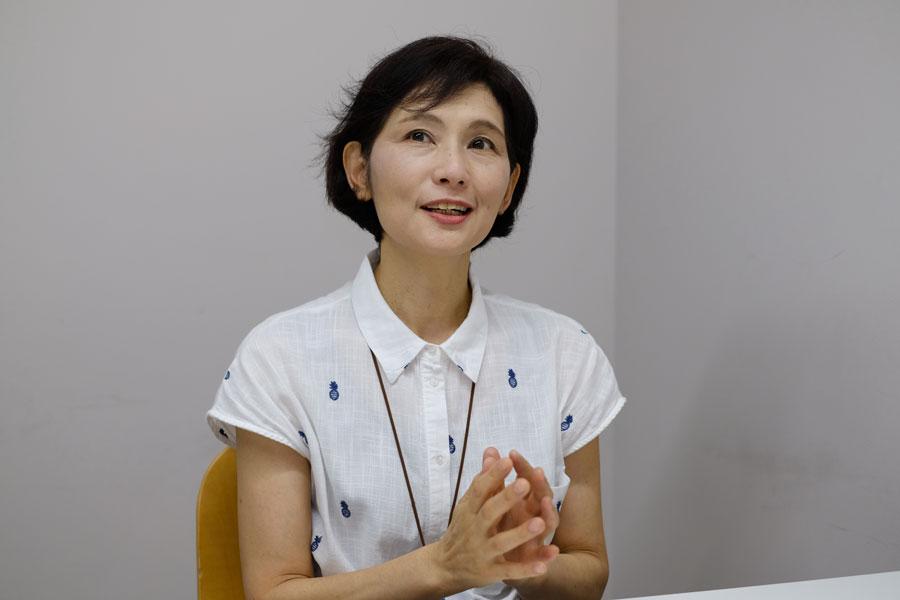 38歳で大学に入り社会福祉を学んだ斉藤とも子さん【写真:山田隆】