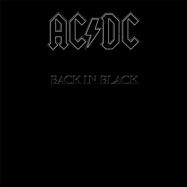 1980年7月25日に発売されたAC/DCの名盤「Back in Black」