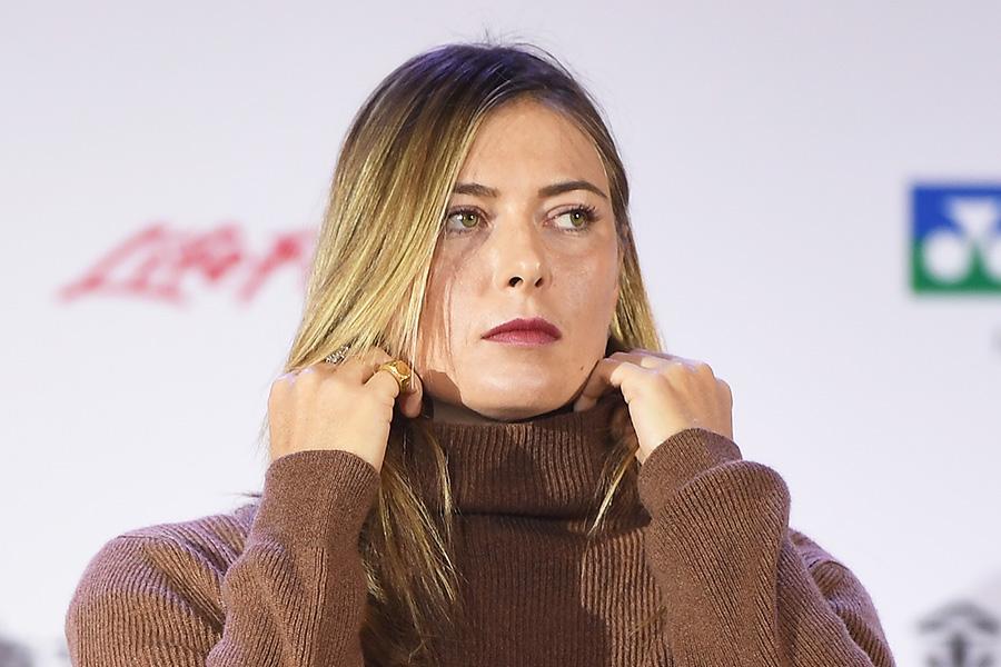 マリア・シャラポワ【写真:Getty Images】