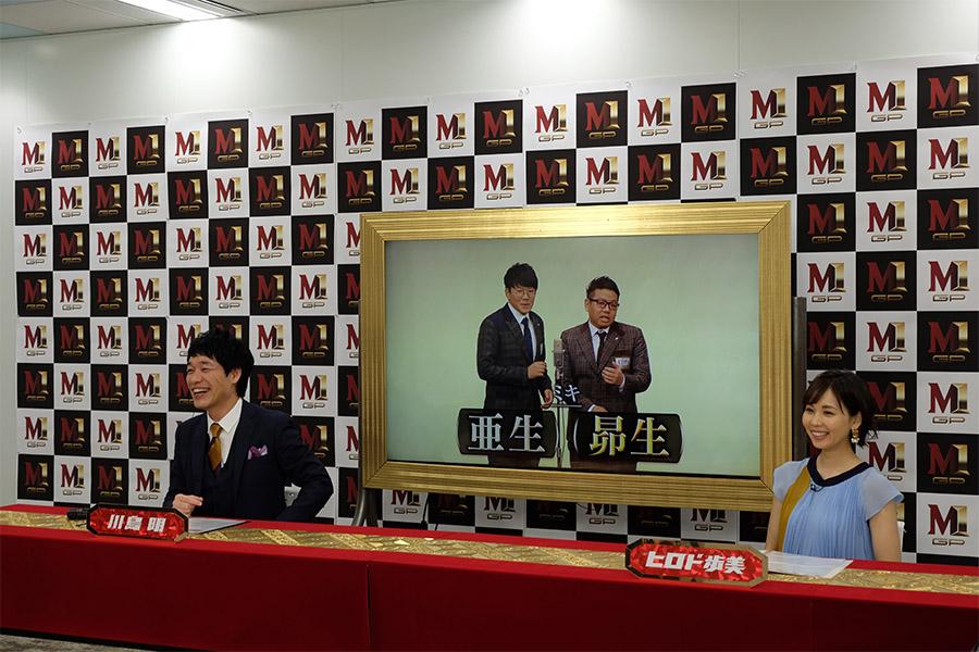 「M-1グランプリ2020」で優勝を目指す「ミキ」(C)ABCテレビ