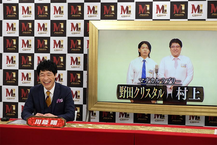 「M-1グランプリ2020」で活躍を誓う「マヂカルラブリー」(C) ABCテレビ