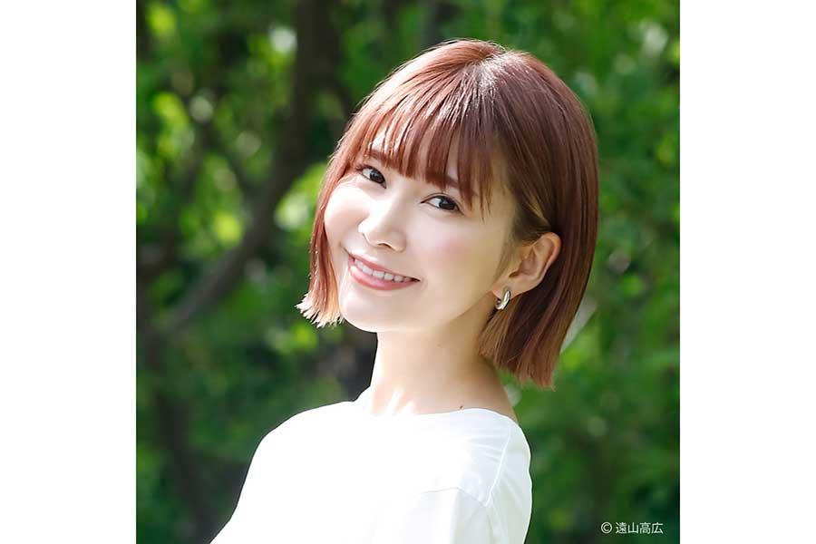 西脇彩華が8月23日にオンラインファンイベントを開催する【写真:(C)遠山高広】