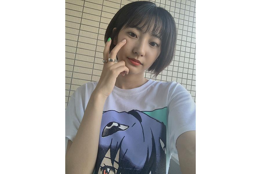 黒髪ボブヘア姿の武田玲奈(C)武田玲奈オフィシャルブログ Powered by Ameba