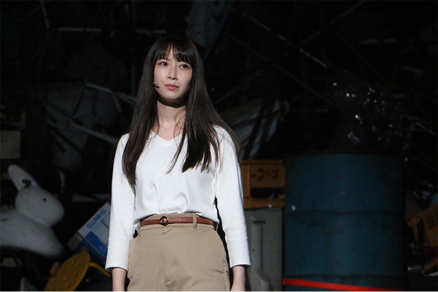 舞台「単純明快なラブストーリー」に出演する「SKE48」高柳明音【掲載:ENCOUNT編集部】