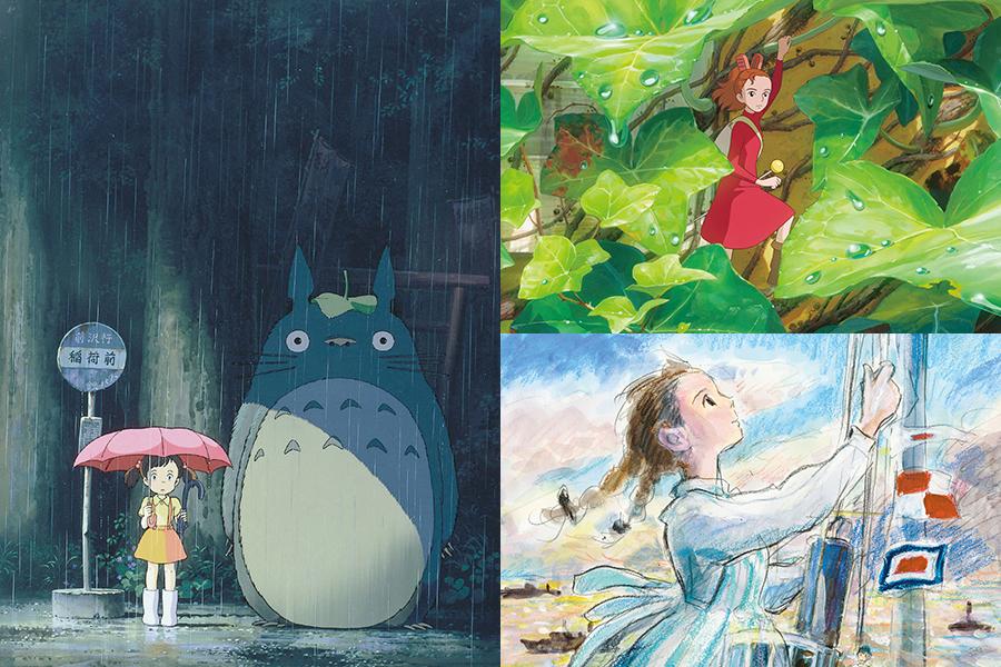 (C)1988 Studio Ghibli、(C)2010 Studio Ghibli・NDHDMTW、(C)2011 高橋千鶴・佐山哲郎・Studio Ghibli・NDHDMT