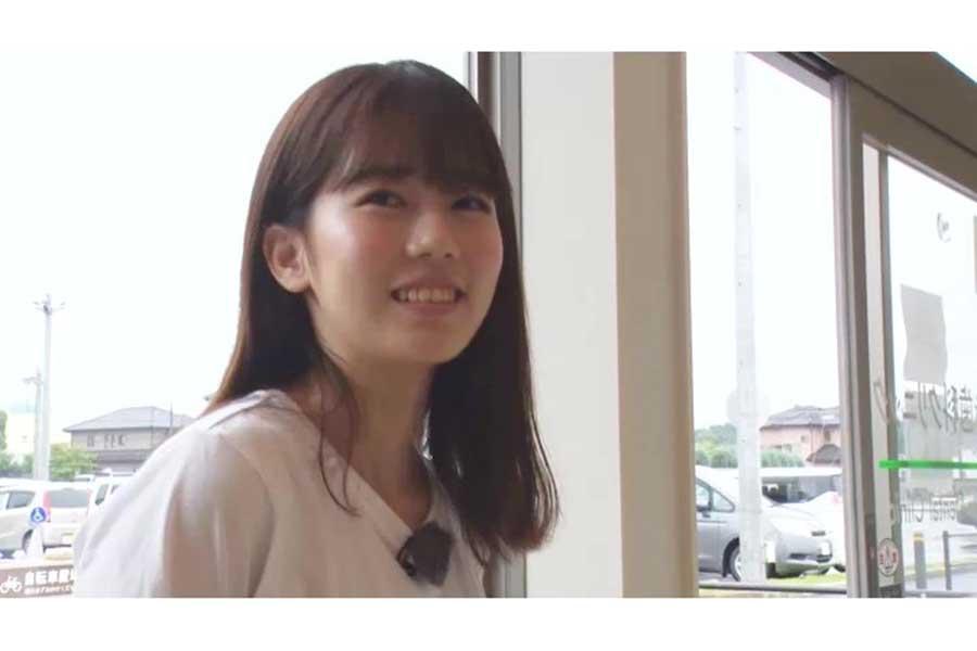 「ボンビーガール」史上最大級の美女と話題となったあおいさん【写真:(C)日本テレビ】