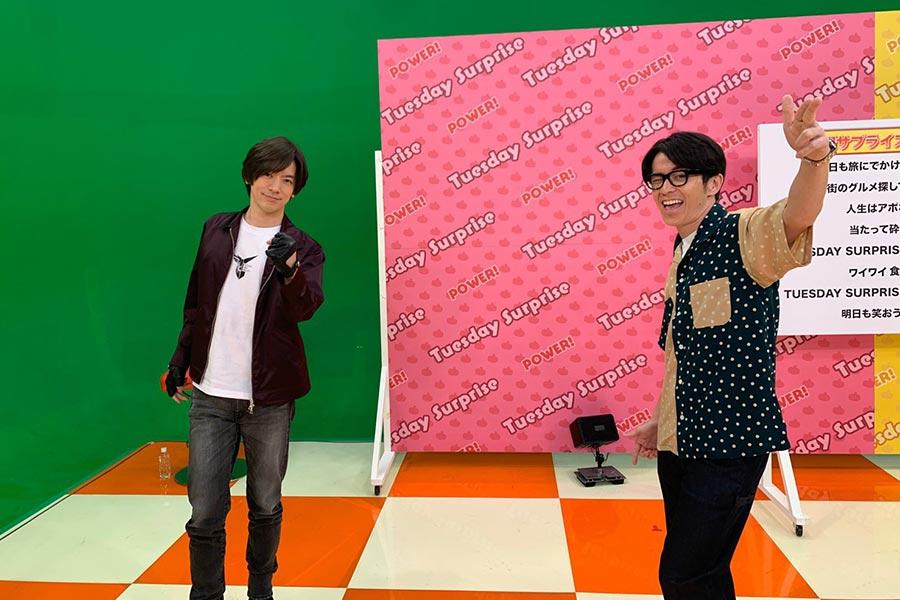 """DAIGO、楽曲制作の様子を初の生披露 火曜サプライズが番組史上初の生配信に""""挑戦"""""""