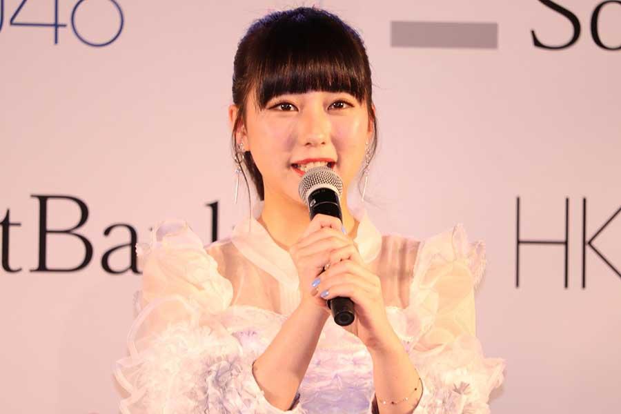 HKT田中美久、すっかり大人になったクールな姿にファン驚き「お顔小さいね」「最高かよ」