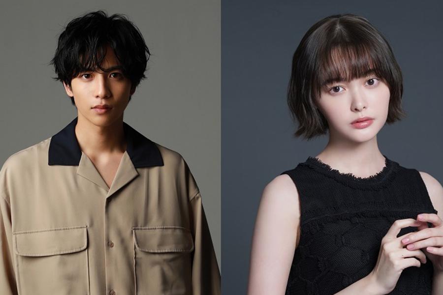 「LINEマンガ」新CMに起用された志尊淳(左)と玉城ティナ