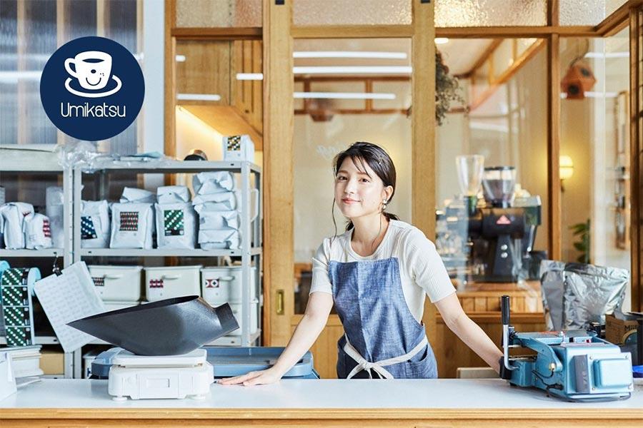 """第1弾では、コーヒーを""""川島ブレンド""""で販売【写真提供:(C)レプロエンタテインメント】"""
