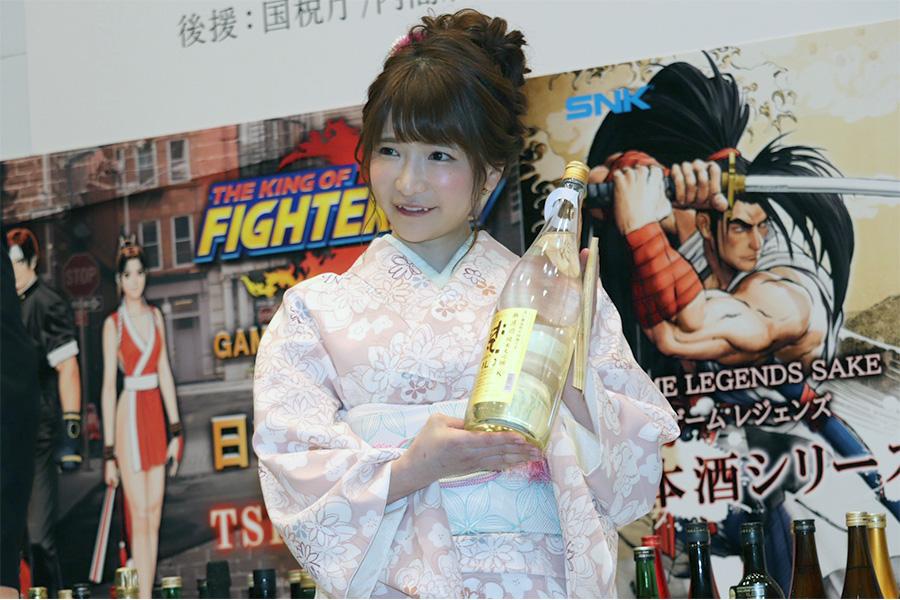 「アマビエ屋台村」日本酒文化大使に任命されたもえのあずき